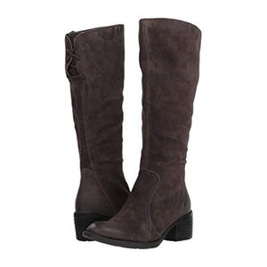 Born Felicia Distressed Suede Knee-High Boot